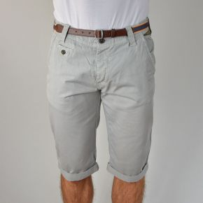 Bermuda homme chino MZGZ gris clair