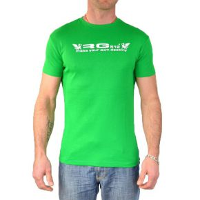 Tee shirt homme RG512 manches courtes col rond vert