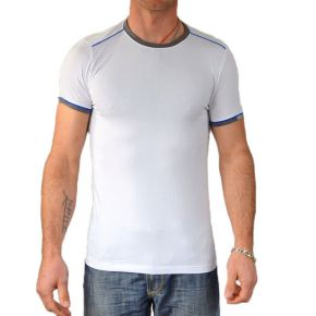 T-shirt homme Maxway col rond blanc
