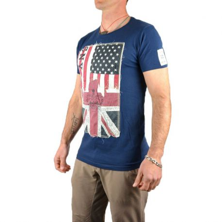 Tee shirt homme col rond