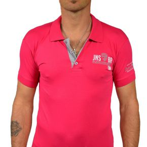 Polo Black River manches courtes rose