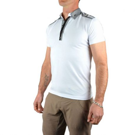 Polo blanc Fashion
