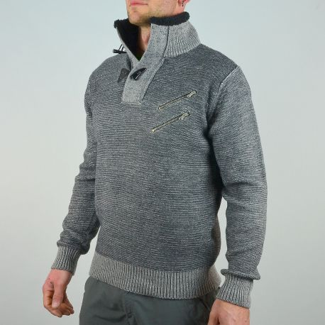 pull t traxx col montant