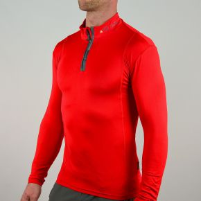 Seconde peau ski homme rouge