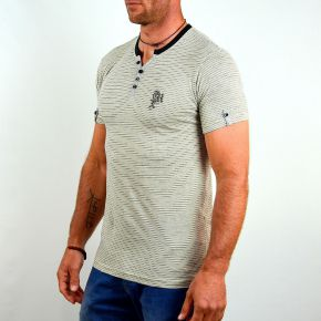 Tee shirt homme T-Traxx CCR 03 manches courtes champagne