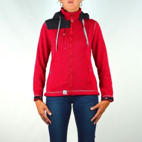 Veste polaire femme Geographical Norway rouge