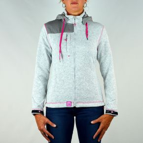 Veste polaire femme Geographical Norway gris clair