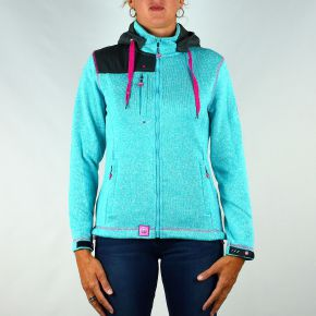 Veste polaire femme Geographical Norway turquoise