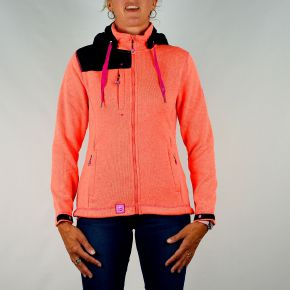 Veste polaire femme Geographical Norway corail
