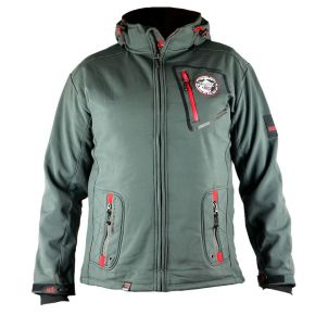 Veste softshell homme Geographical Norway grise