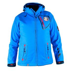 Veste softshell homme Geographical Norway turquoise