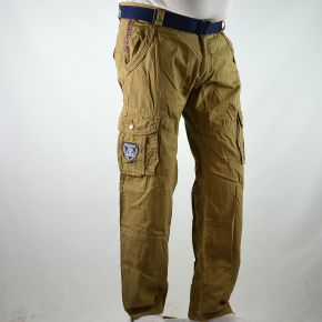 Pantalon cargo homme Geographical Norway beige