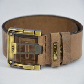 Ceinture homme Tony Copper marron
