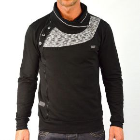 Tee shirt homme manches longues Maxway noir