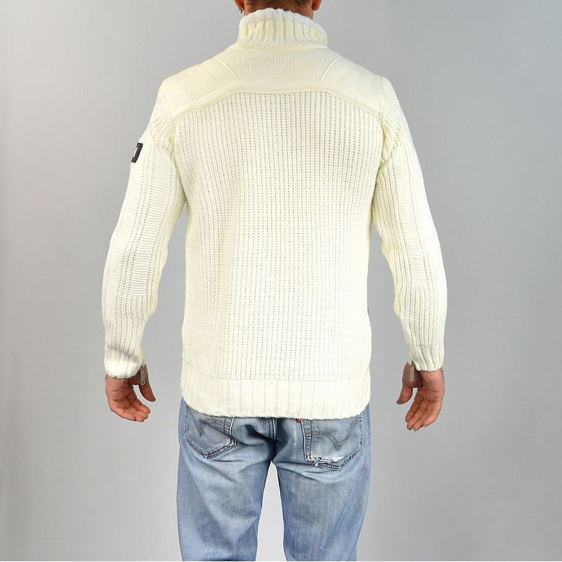 pull homme col montant 233 cru gg