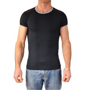 T-shirt homme Maxway col rond noir