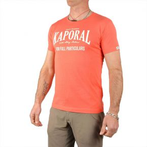 T-shirt homme Kaporal col rond corail