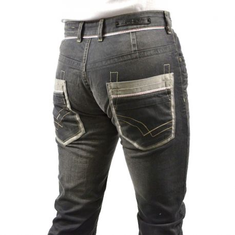 Jeans fashion homme gris