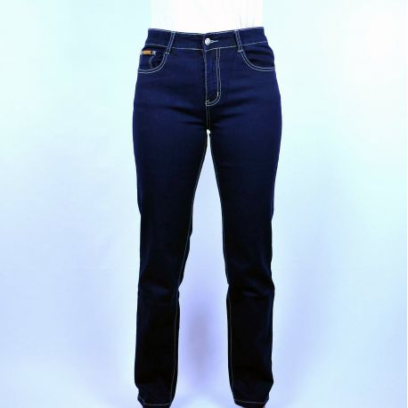 Jeans homme taille haute coupe droite