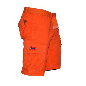 Bermuda cargo homme Geographical Norway orange