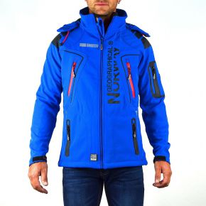 Veste softshell homme Geographical Norway Tambour bleu