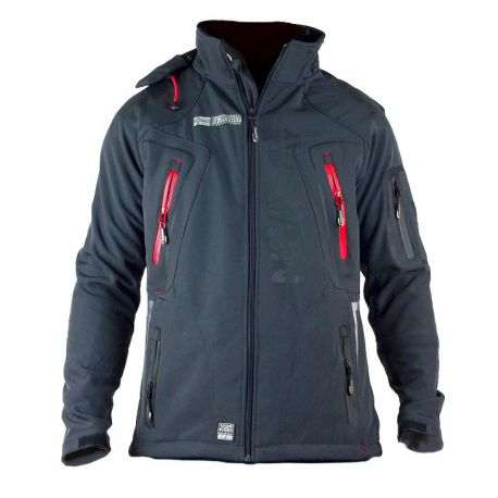 Veste softshell homme Geographical Norway Tambour gris