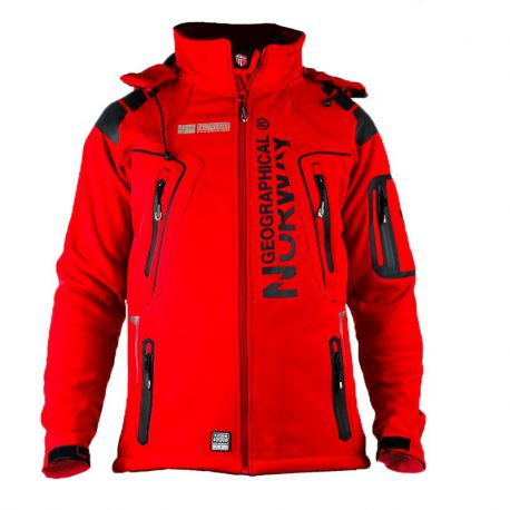 Géographical Norway veste softshell homme Rouge