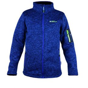 Veste polaire homme Peak Mountain bleue chiné