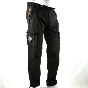 Pantalon cargo homme Geographical Norway noir