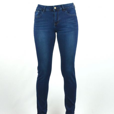 Jeans slim femme Redseventy taille haute