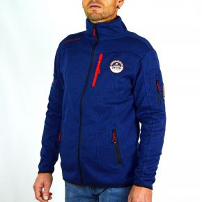 Polaire homme Geographical Norway bleu