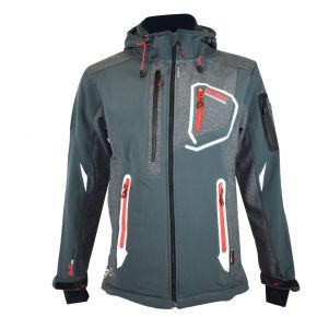 Veste softshell homme Geographical Norway Tixon gris