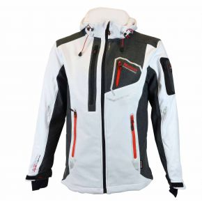 Veste softshell homme Geographical Norway Tixon blanc