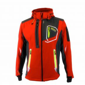 Veste softshell homme Geographical Norway Tixon rouge