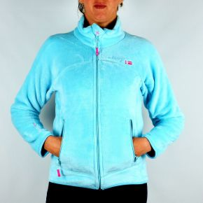 Polaire femme Geographical Norway Unicorne Lady turquoise