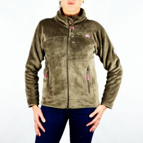 Polaire femme Geographical Norway Unicorne Lady taupe