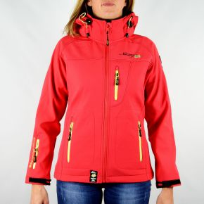 Veste softshell femme Geographical Norway Tatia Lady corail
