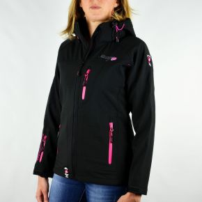 Veste softshell femme Geographical Norway Tatia Lady noir