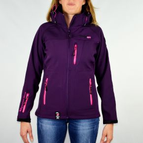 Veste softshell femme Geographical Norway Tatia Lady prune