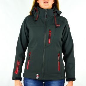 Veste softshell femme Geographical Norway Tatia Lady gris
