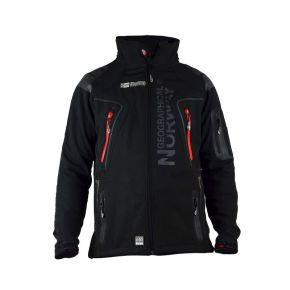 Veste softshell homme Geographical Norway noir