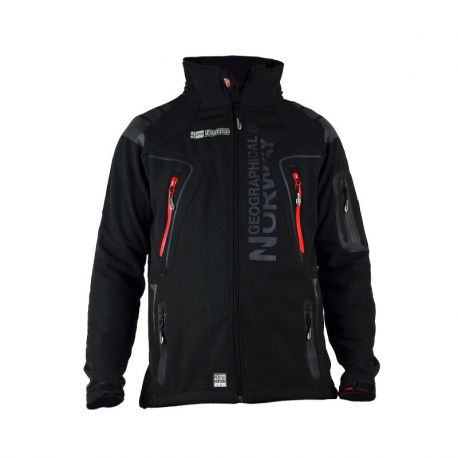 Veste softshell homme Geographical Norway Tambour noir