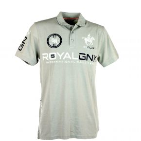 Polo homme manches courtes Geographical Norway Kolmar mastic