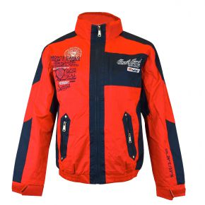 Coupe-vent blouson homme Geographical Norway rouge / marine