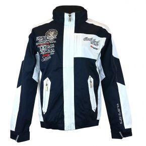 Coupe-vent blouson homme Geographical Norway marine / blanc